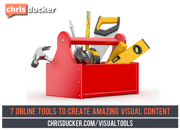 how to create visual content