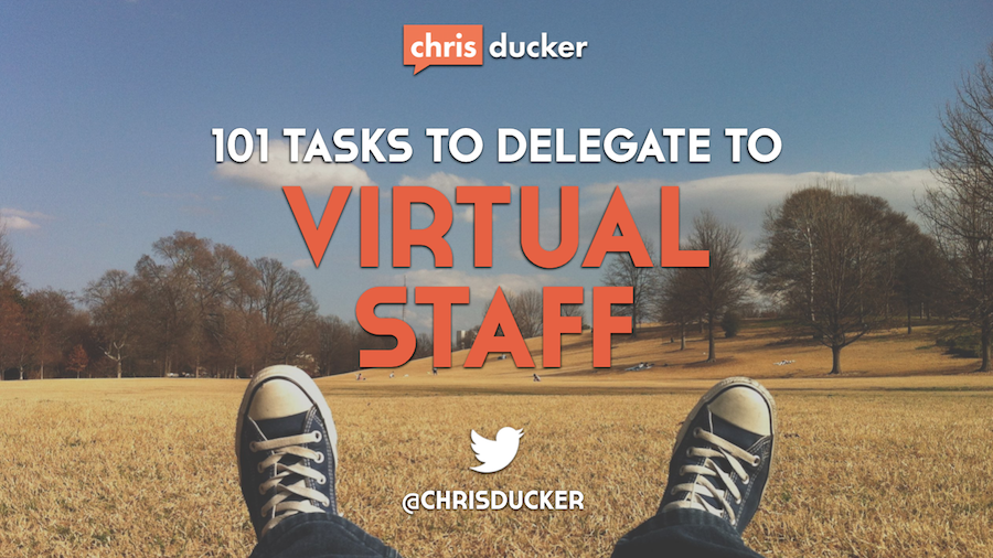 101 Tasks You Can Outsource to Virtual Staff